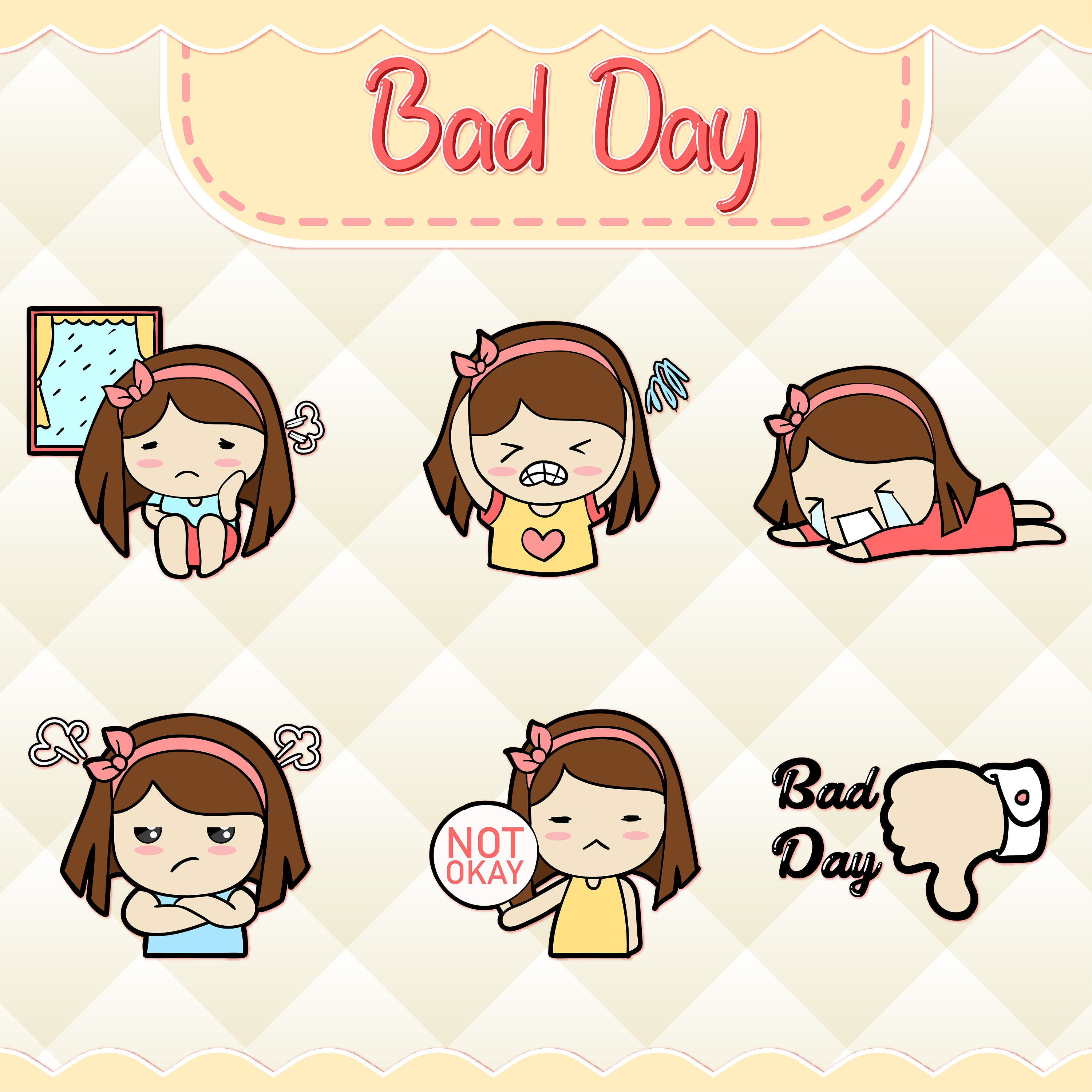 Bad Day Clipart.