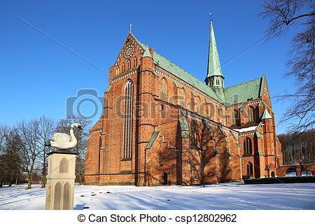 Stock Image of Bad Doberan Minster Germany.