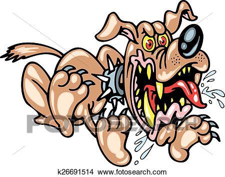 Bad dog Clipart.