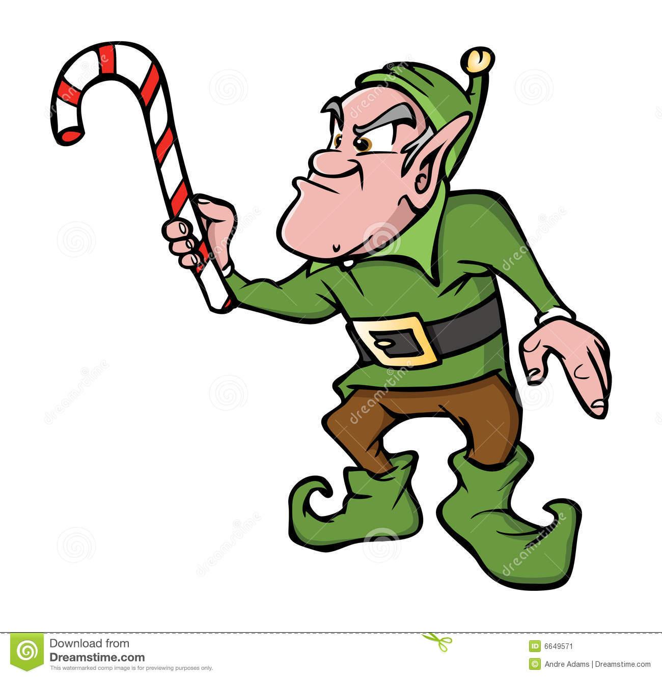 4798 Elf free clipart.
