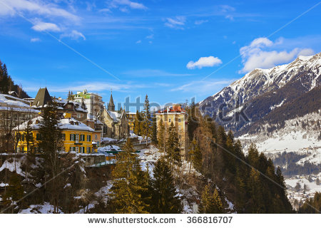 Bad Gastein Austria Stock Photos, Royalty.