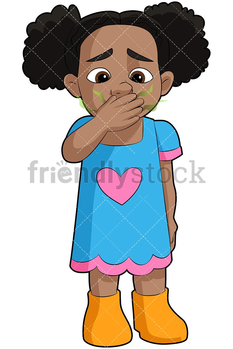 Black Girl With Stinky Breath.