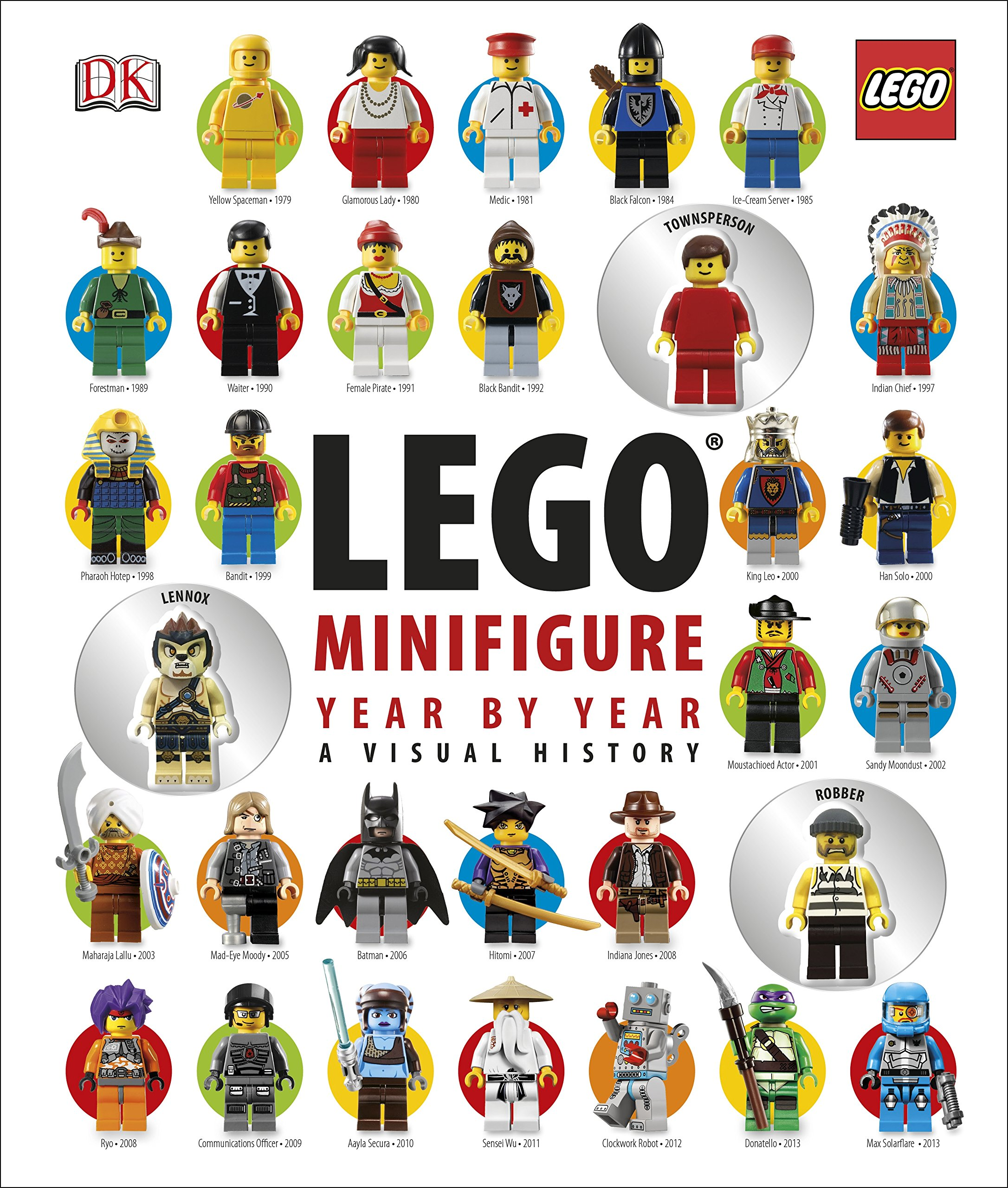 LEGO® Minifigure Year by Year A Visual History: With 3.