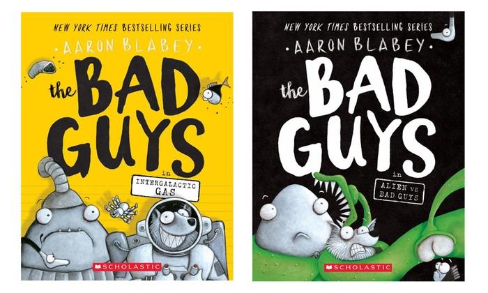 The Bad Guys Series Kids\' Books 1.