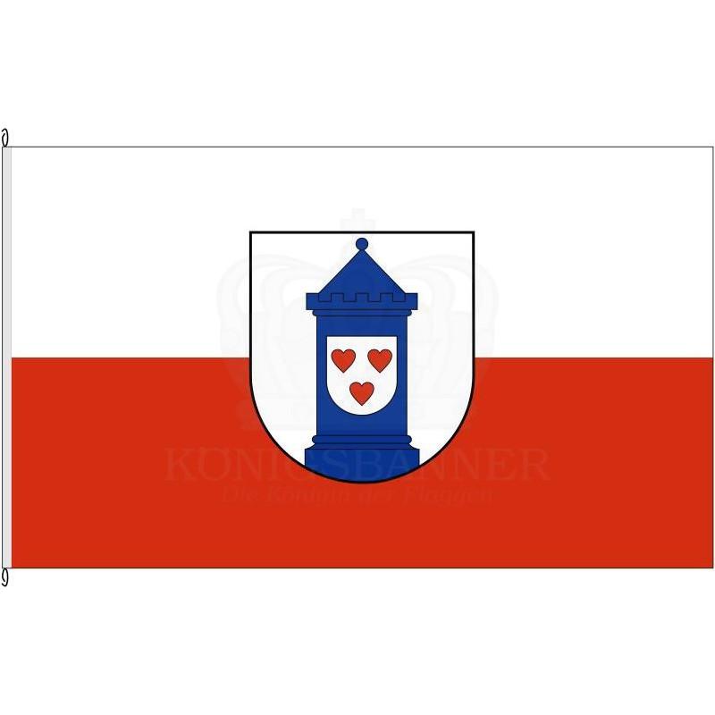 Fahne von Bad Liebenwerda.