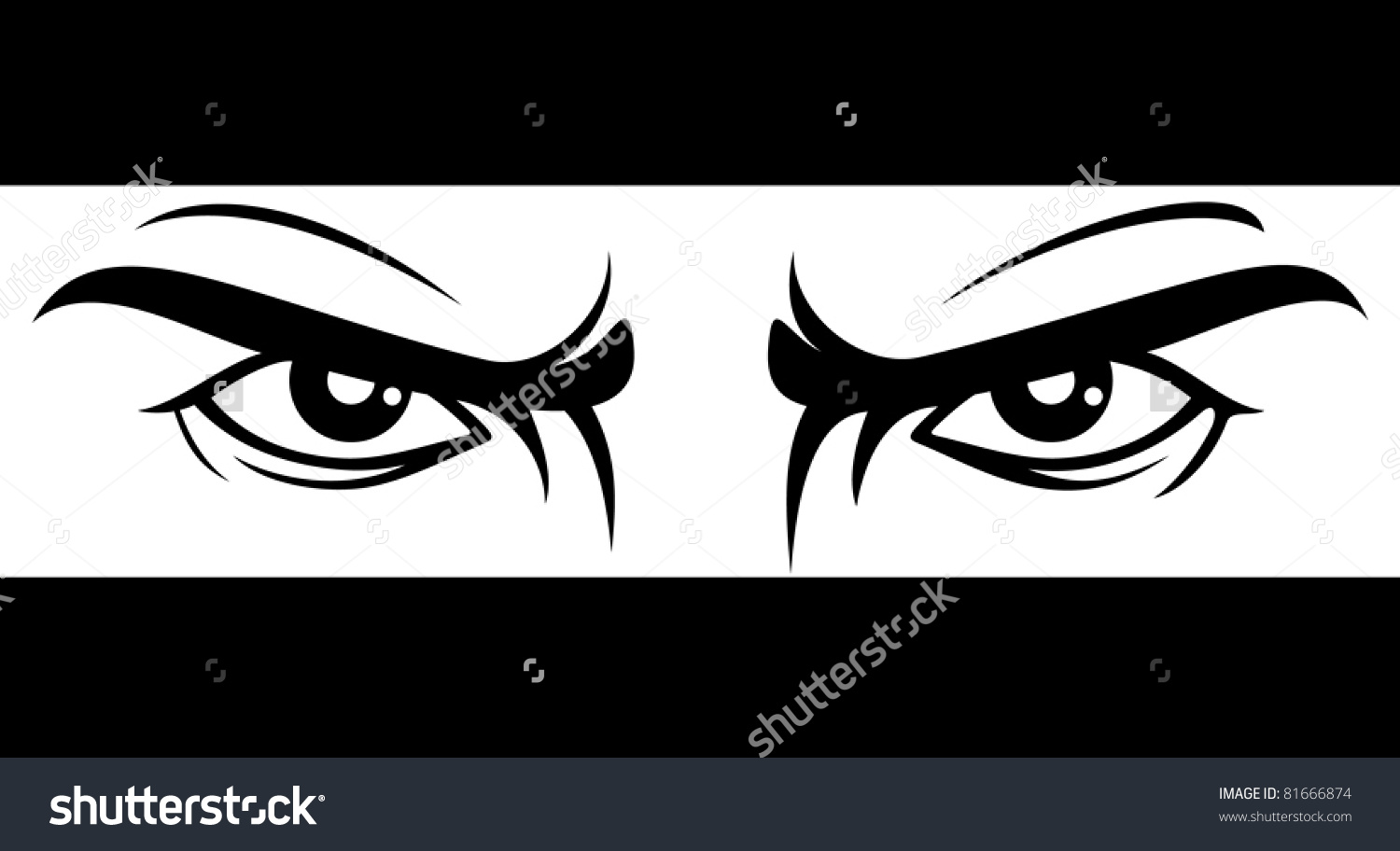 Angry Look Clipart.