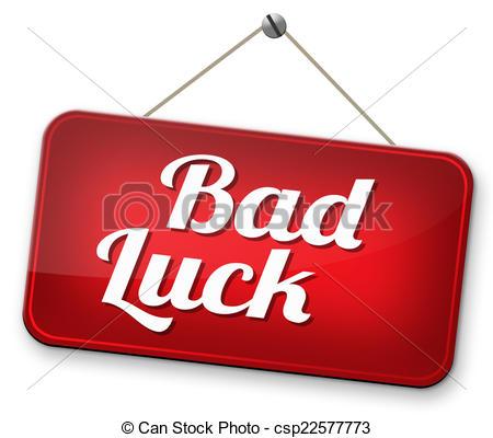 Bad Luck Clipart Vector Unlucky Man Bad Luck.