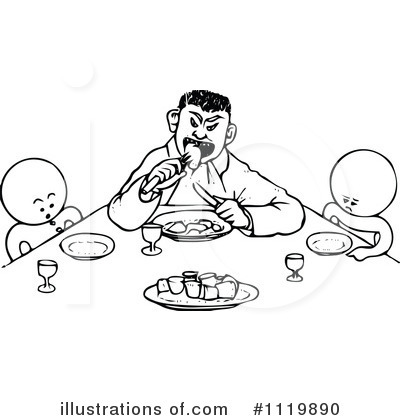 Bad Manners Clipart.