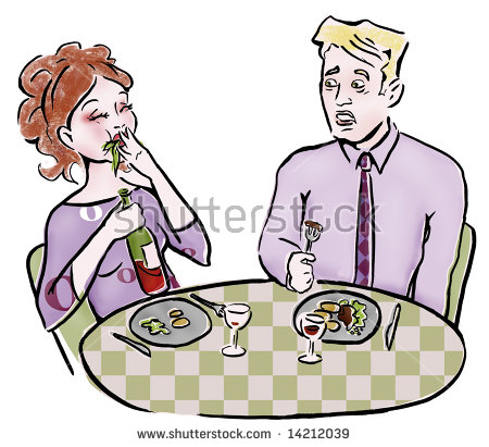 Table Manners Stock Images, Royalty.