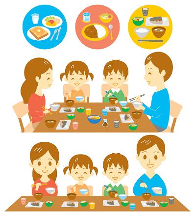 Bad Table Manners Clipart.