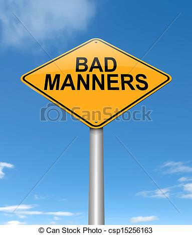 Bad manners Clip Art and Stock Illustrations. 52 Bad manners EPS.