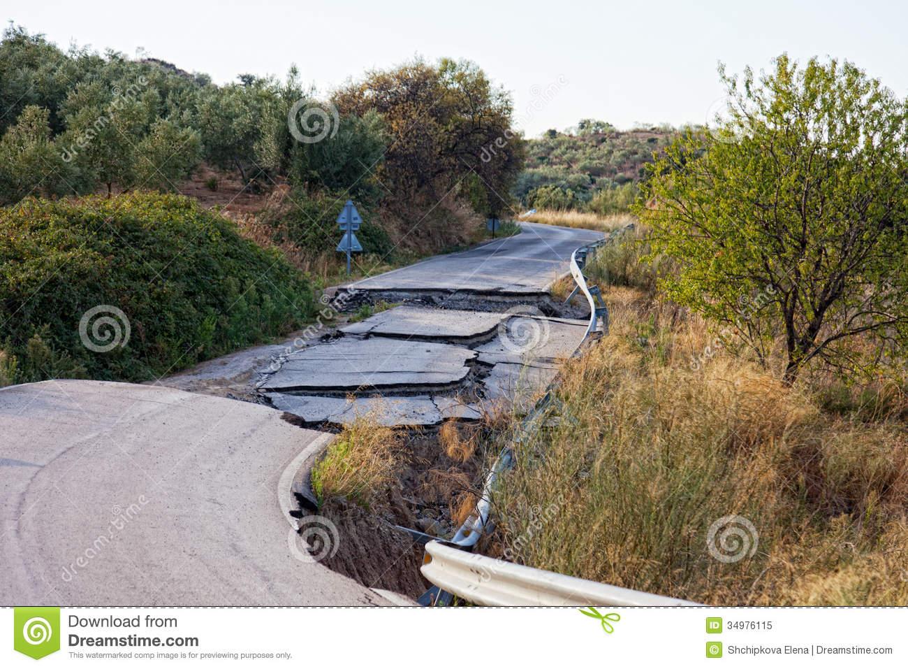 Bad road clipart #8
