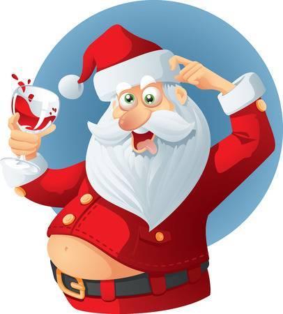 Bad santa clipart 3 » Clipart Portal.