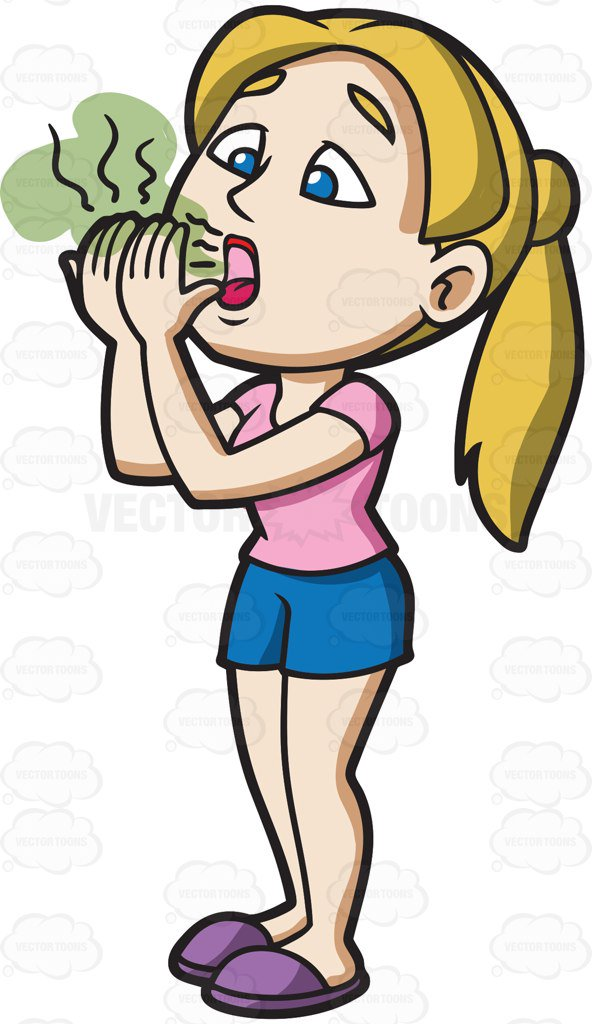 Breathe clipart bad smell object Transparent pictures on F.