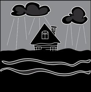 Flood Clipart Image.