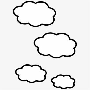 White Cartoon Cloud Png , Transparent Cartoon, Free Cliparts.