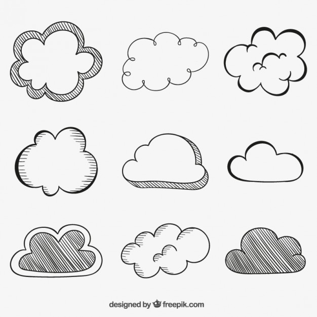 Badal clipart black and white clipart images gallery for.