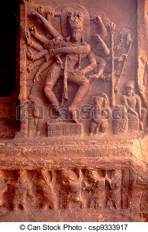 Picture of Dancing Shiva.