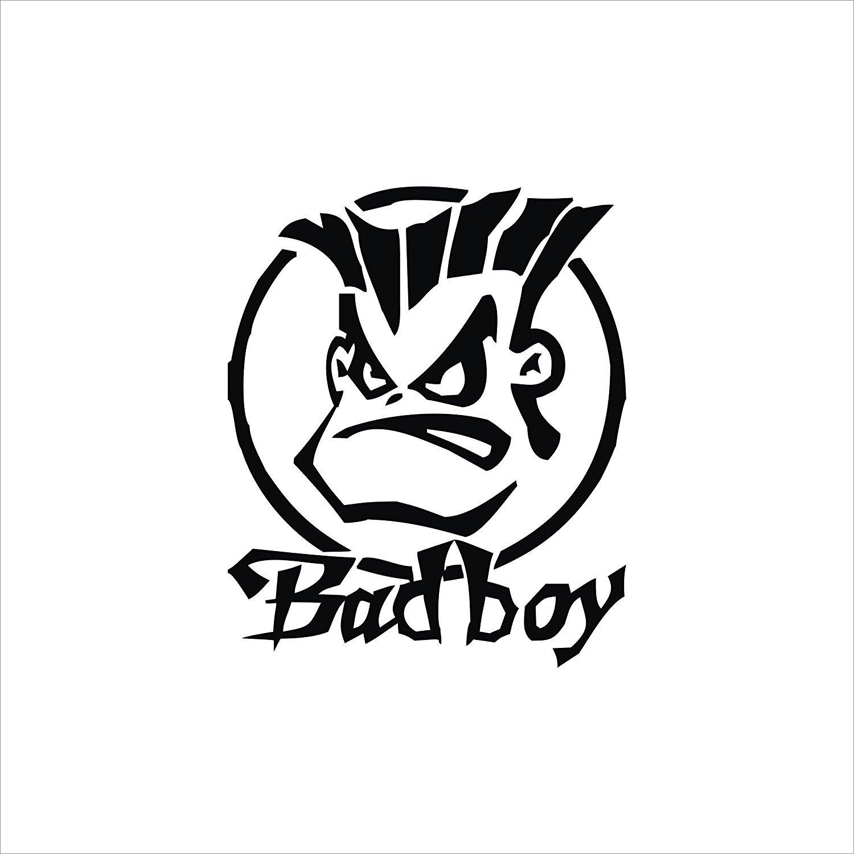 CVANU Bad bOy Logo Car Sticker Vinyl Out Side,Visor,Car.