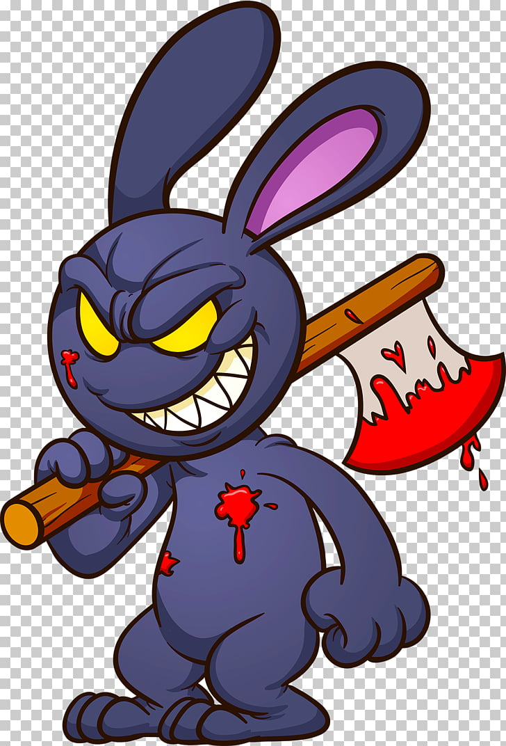 Cartoon Drawing Bugs Bunny, Evil PNG clipart.
