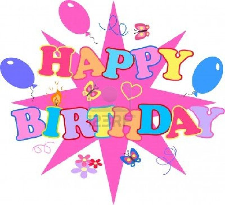 1000+ images about Happy Birthday Clip Art.. on Pinterest.