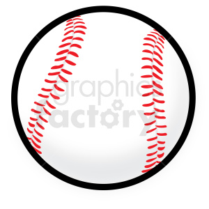 baseball vector clipart no background . Royalty.