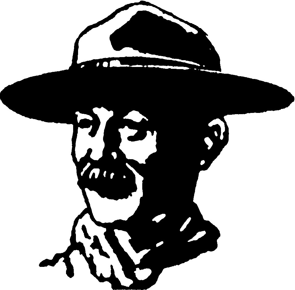 Baden Powell and his own Artwork.