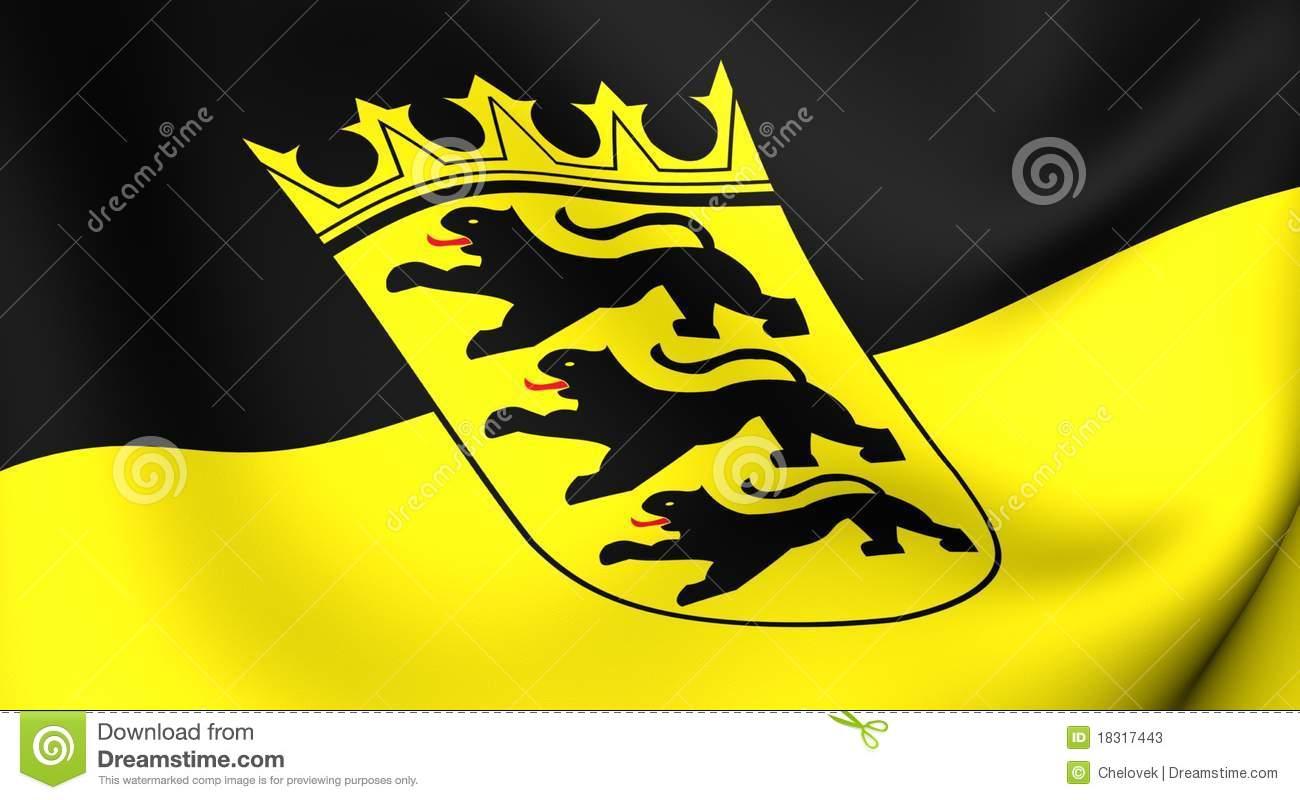 Flag Of Baden.