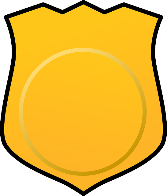 Detective Badge Clipart.
