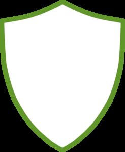 Badge outline clip art.