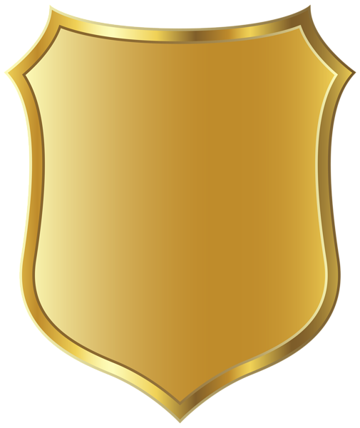 Police badge drawing clip art 3.