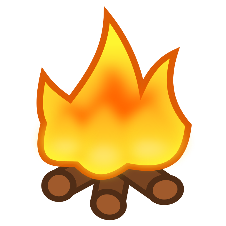 Badge clipart paw and campfire clipart images gallery for.