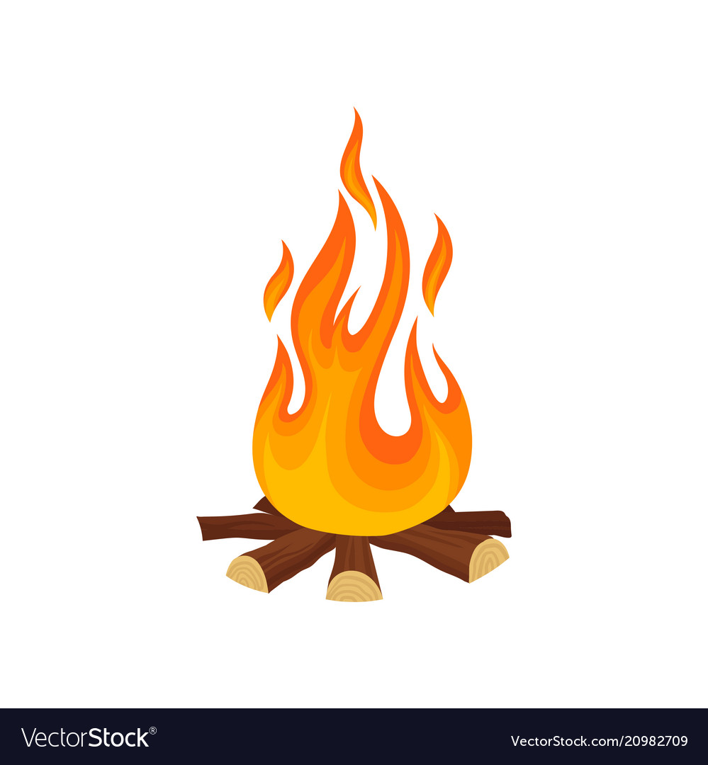 Cartoon campfire clipart images gallery for free download.