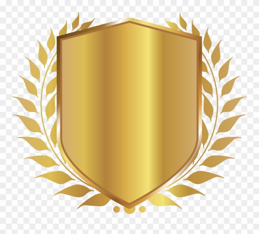 Shield Badge Free Png Image.