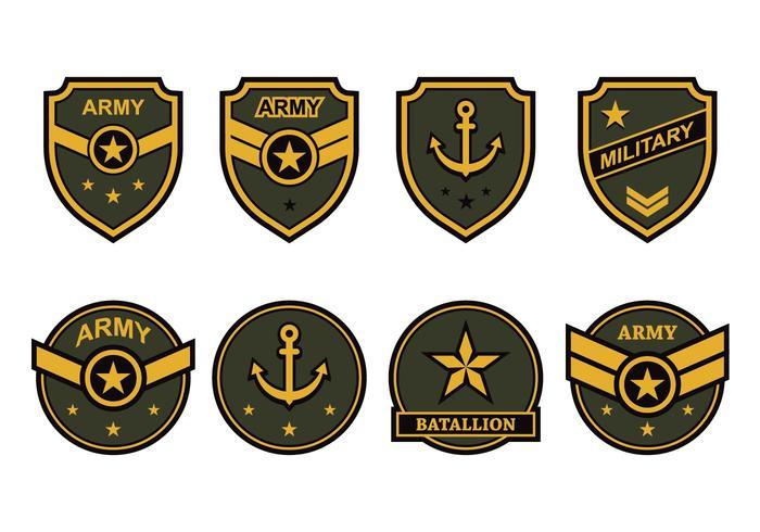 Free Army Emblem Vector.