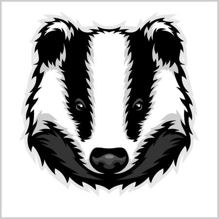 1,834 Badger Stock Vector Illustration And Royalty Free Badger Clipart.