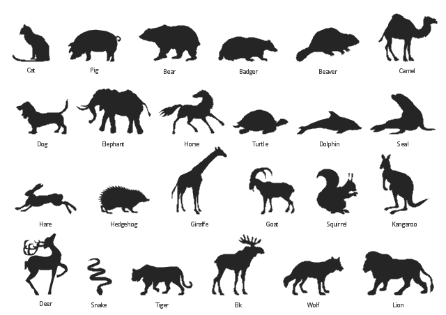 Badger Clipart Silhouette Clipground