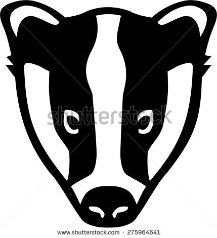 Badger Stock Images, Royalty.