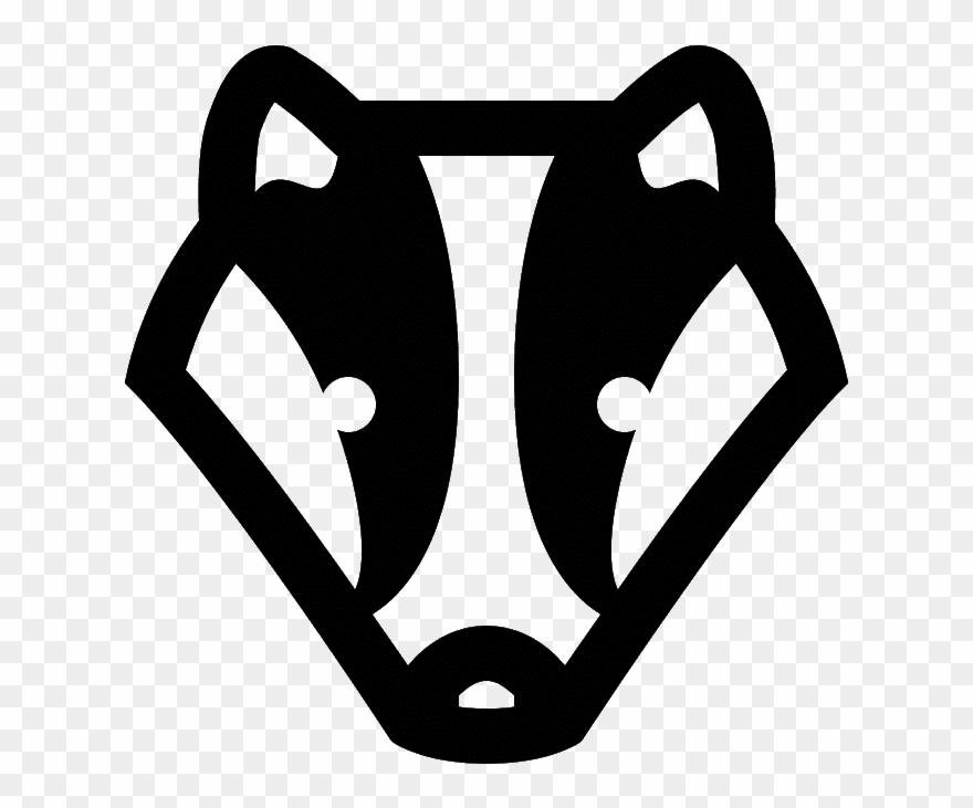 Honey Badger Clip Art.