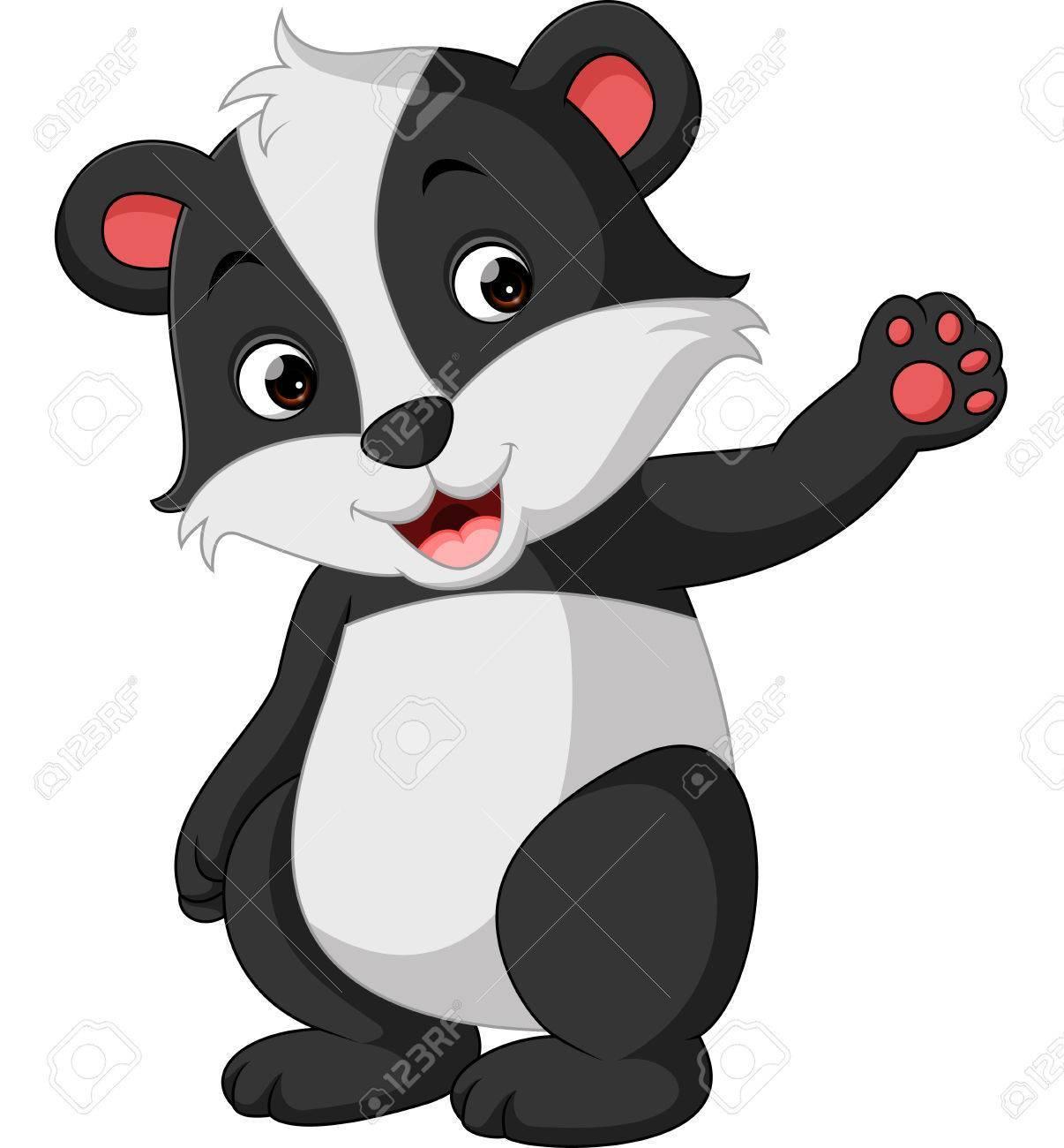 Cartoon badger clipart 3 » Clipart Portal.