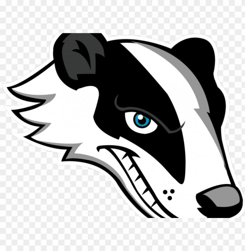 honey badger clipart.