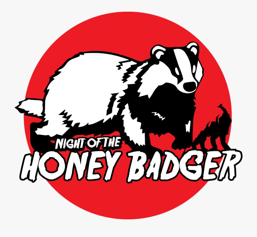 Honey Badger Outline Clipart , Free Transparent Clipart.