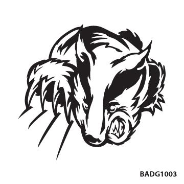 Badger clipart mascot, Badger mascot Transparent FREE for download.