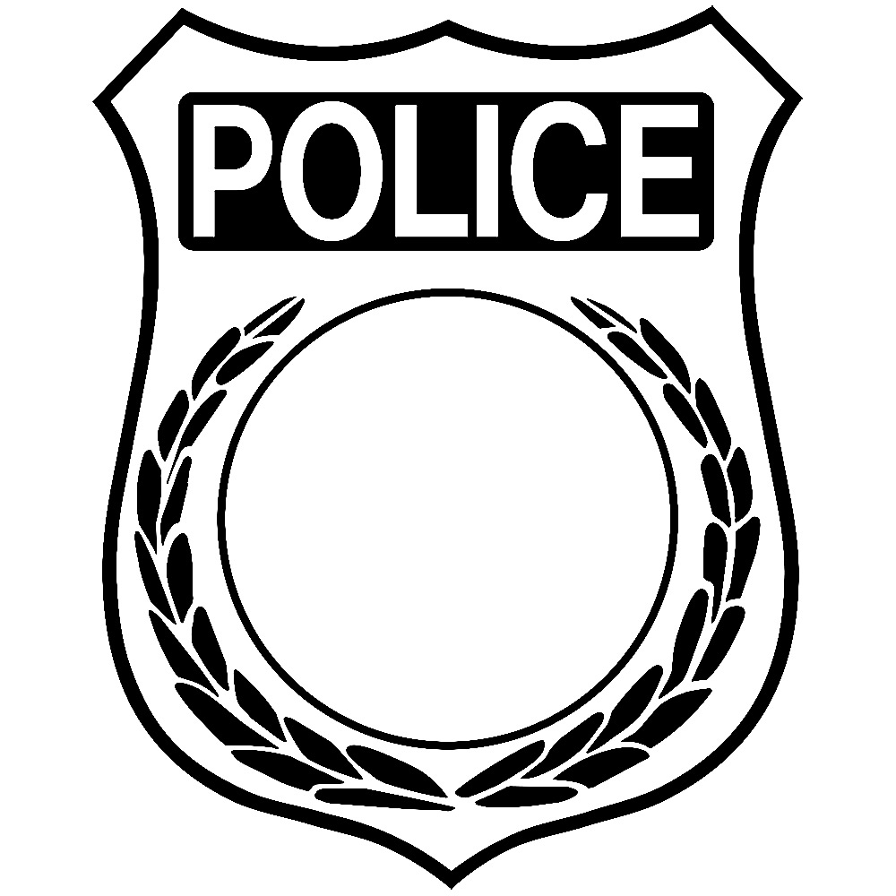 Police Officer Badge Clipart.
