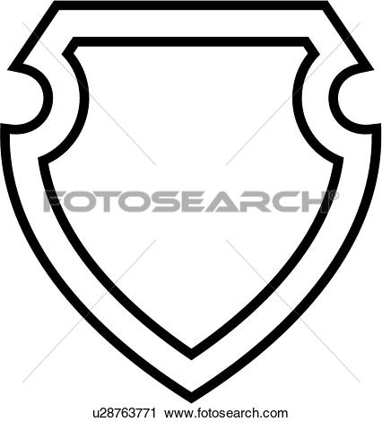 Clipart of , badge, department, emergency, emergency services.