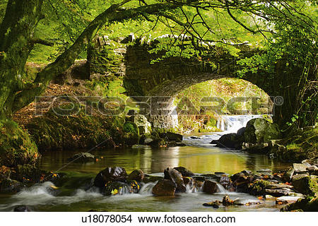 Stock Photo of England, Somerset, Oareford, The picturesque.