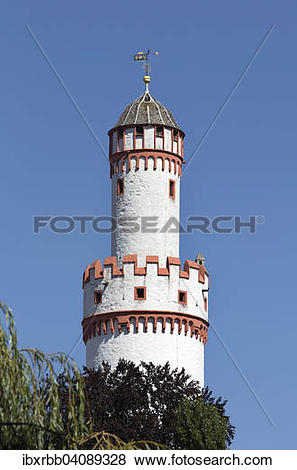 Pictures of White Tower, Bad Homburg Castle, Bad Homburg, Main.