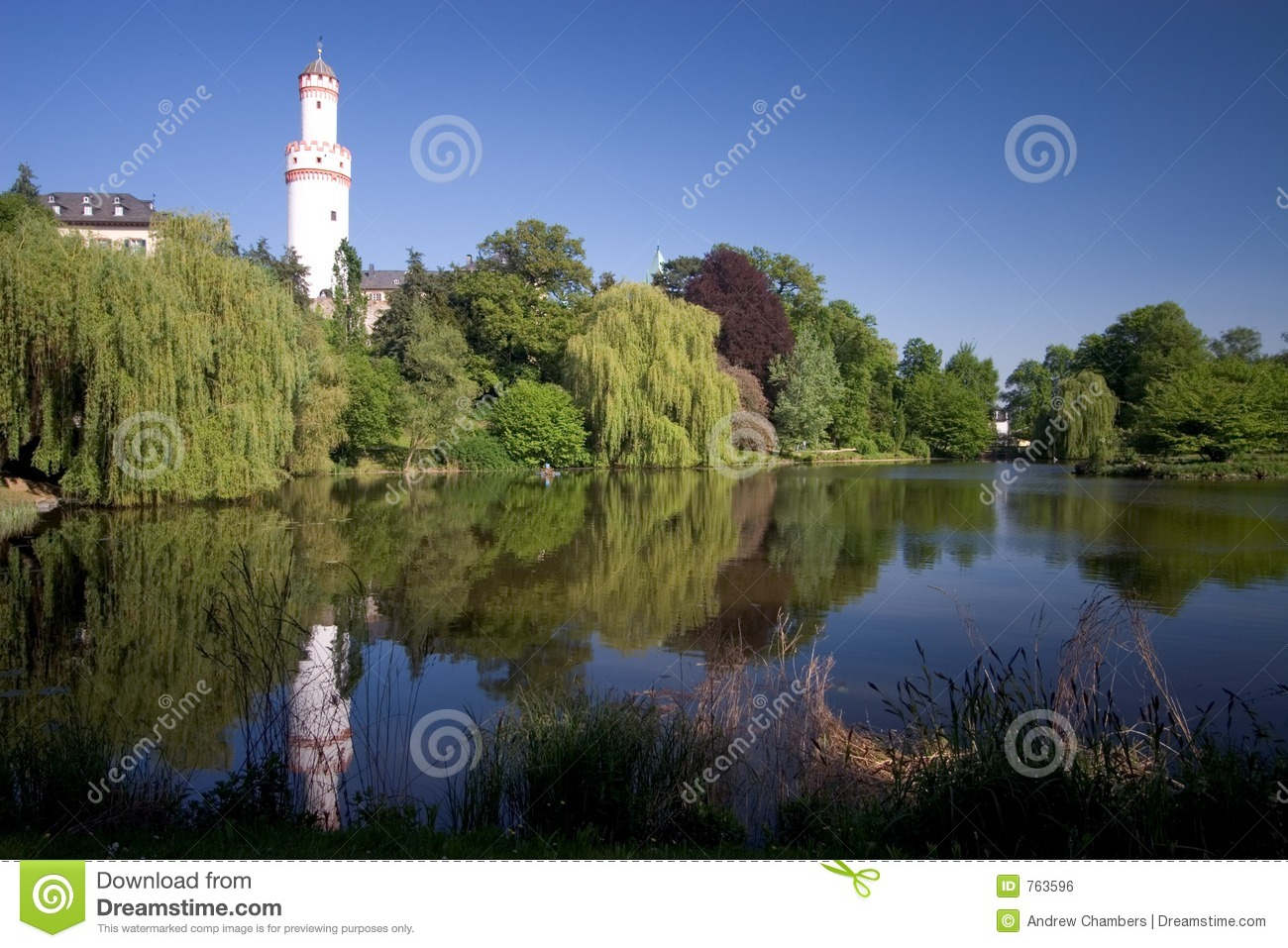 Bad Homburg Schloss Royalty Free Stock Image.