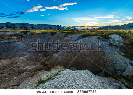 Badlands Stock Photos, Royalty.