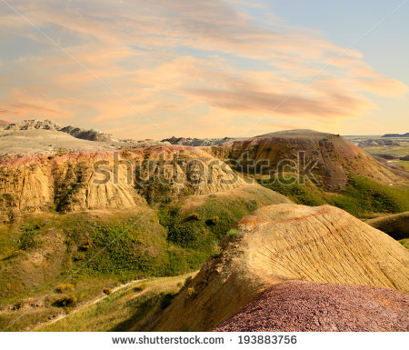 Autumn In Badlands National Park Stock Photos, Royalty.